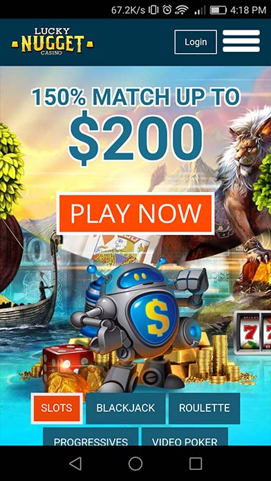 Lucky Nugget Casino And Bonus Codes Lucky Nugget Casino App Download