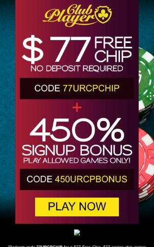 Club Player Casino Play Online Blackjack No Deposit