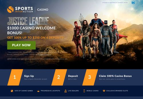 Sports Interaction Casino Bonus