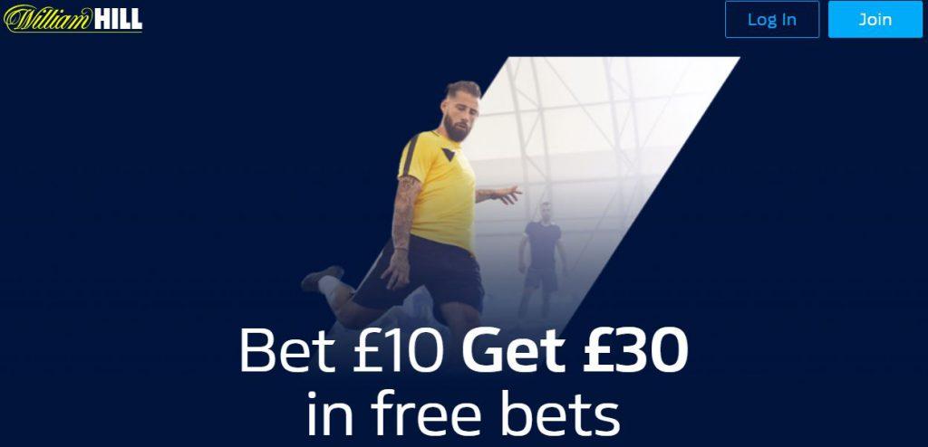 William Hill Football Betting