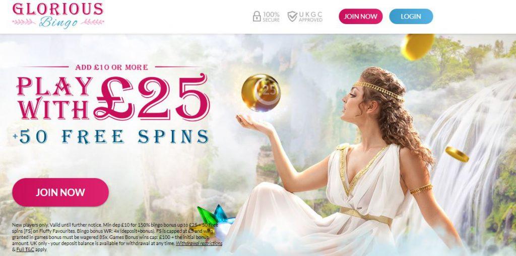 Glorious Bingo Promotion
