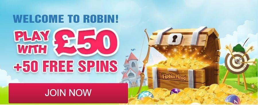 Robin Hood Bingo Promotion