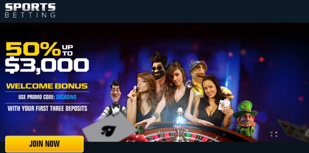 SportsBetting Casino Promotion